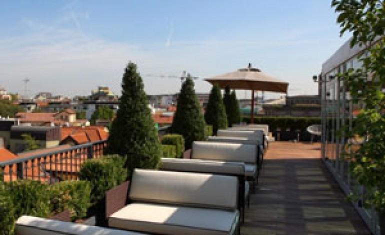Debutta la terrazza dell'Hotel Milano Scala