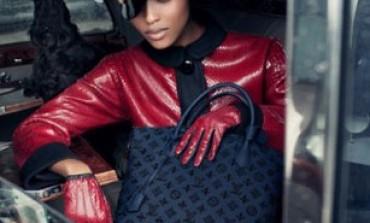 6 giovani modelle per l'inverno di Louis Vuitton
