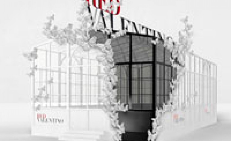 Nuovo pop up greenhouse per REDValentino