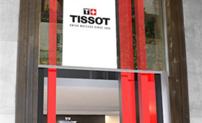 Prima boutique a Milano per Tissot