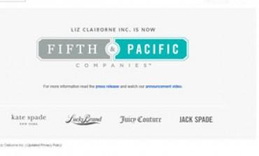 Liz Claiborne diventa Fifth & Pacific Companies