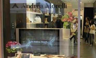 Andrea Morelli sbarca a Reggio Emilia con uno store