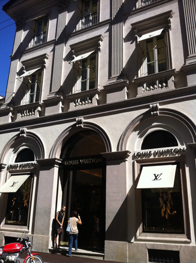 Maison Louis Vuitton di Milano
