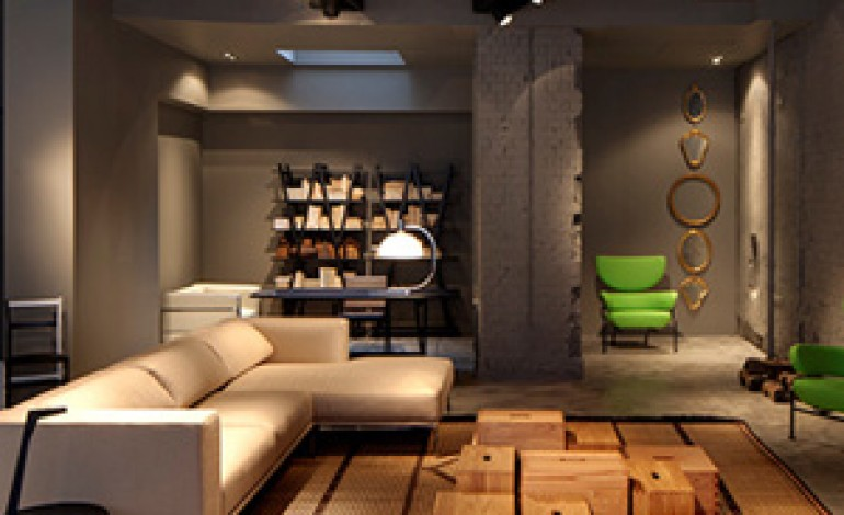 Lissoni firma il nuovo showroom londinese di Cassina