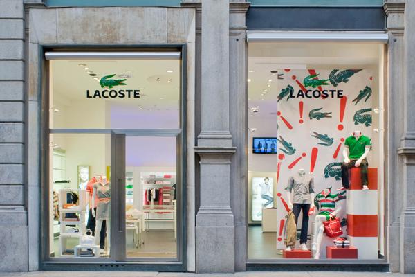 Boutique Lacoste Milano
