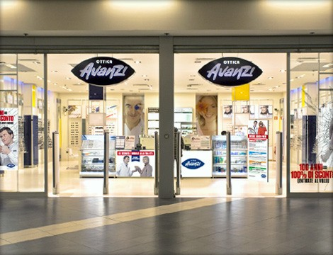 Uno store di Ottica Avanzi