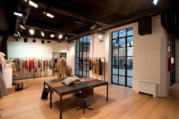 Lo showroom milanese del Gruppo Miroglio
