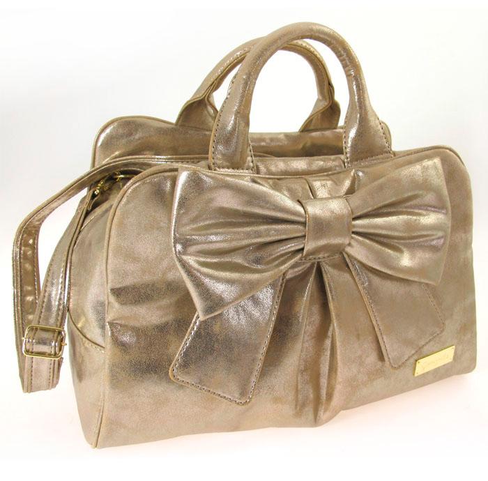 Gold Ribbon Bag Ieo