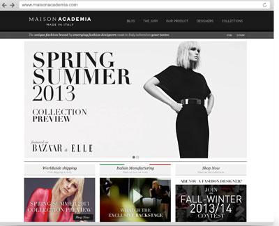 Il sito Maison Academia