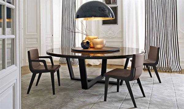 Il tavolino Xilos di Maxalto