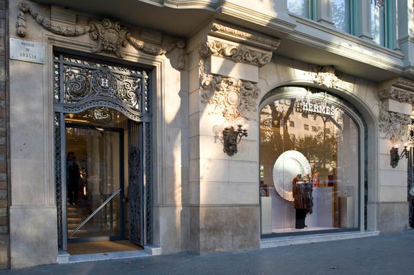 Negozio Hermès