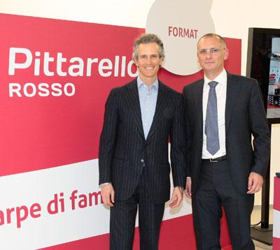 Alessandro Benetton e Andrea Cipolloni