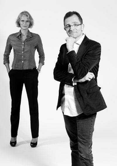 Stephane Treppoz ed Hélène Supau