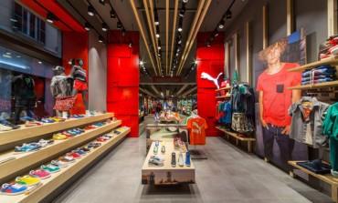 Design sostenibile per il nuovo Puma store di Roma