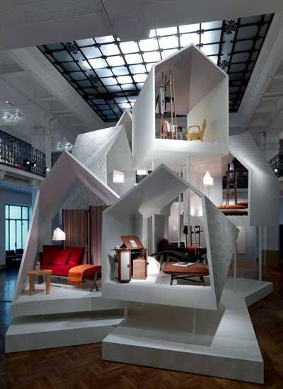 Allestimento Hermès Maison