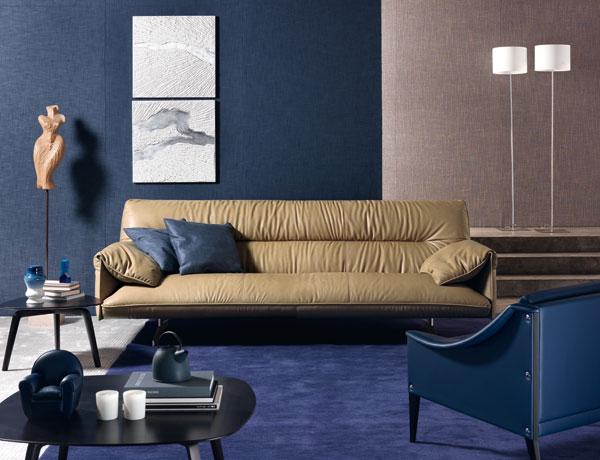 Il divano Antohn della collezione 2013 Poltrona Frau