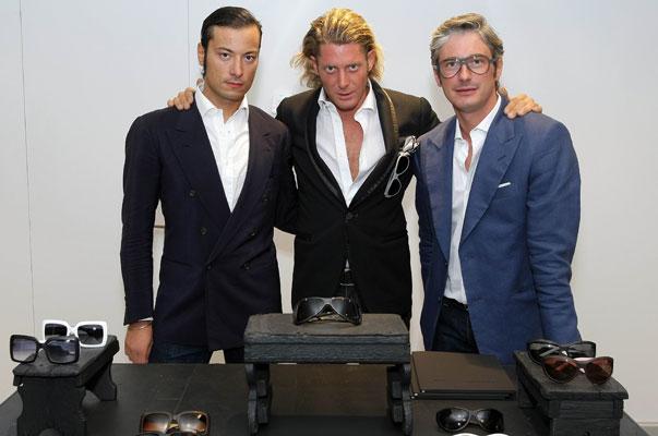 Giovanni Accongiagioco, Lapo Elkann e Andrea Tessitore