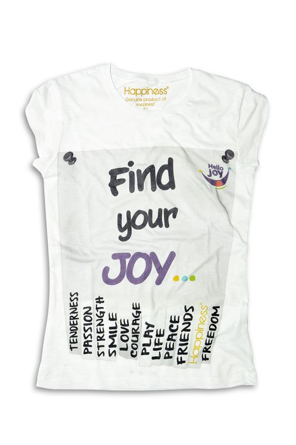 "T-Shirt ""Hello Joy"""