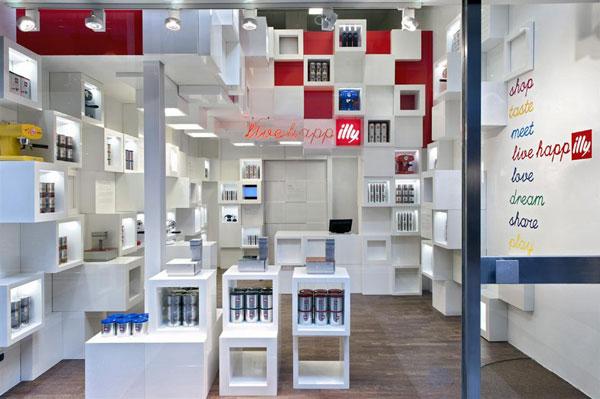 Un temporary shop milanese di Illyshop