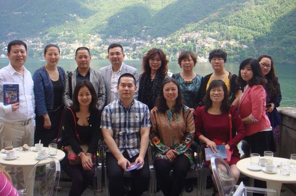 La delegazione di imprenditori cinesi in Italia