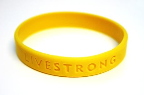 Il braccialetto Livestrong