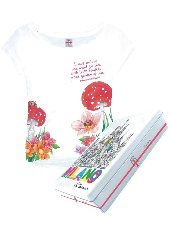 La T-shirt di Elio Fiorucci per Milano Design