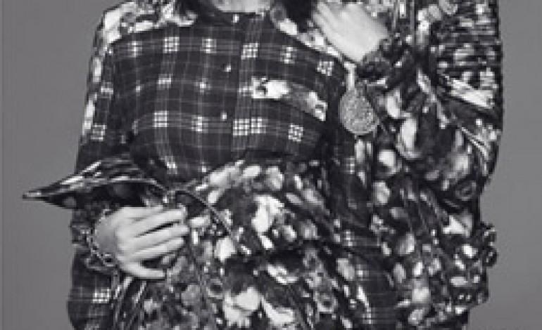 Carine Roitfeld posa con la figlia per Givenchy