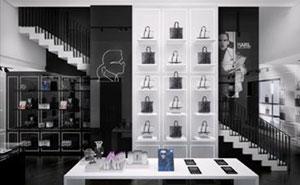 Un interno dello store Karl Lagerfeld