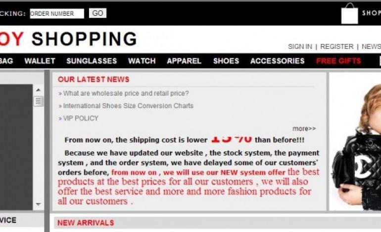 Chiuso sito cinese dei falsi, tra le griffe anche Chanel
