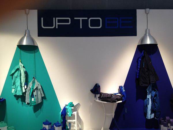 Lo stand Up to be a Pitti Uomo