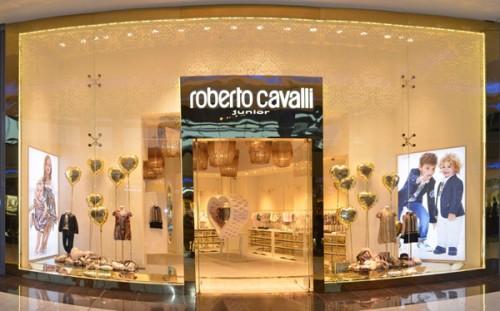 Roberto Cavalli Junior presso il Dubai Mall