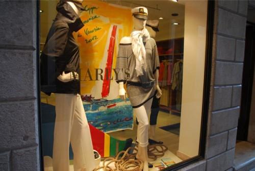 Una vetrina del negozio Marly's di Venezia
