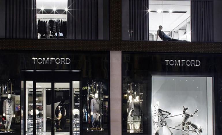 Tom Ford apre il primo store a Londra