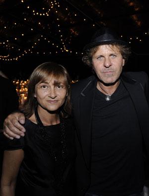 Renzo Rosso e Marina Tosin
