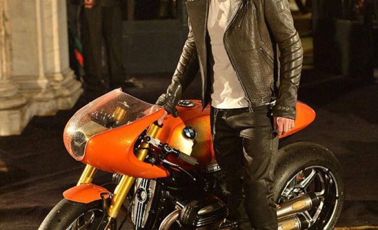 Beckham perfetto biker per Belstaff