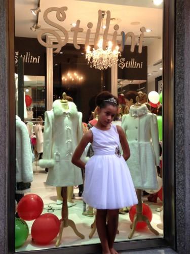 La boutique Stillini di Milano