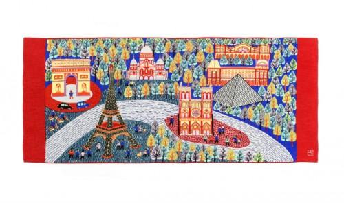 Sciarpa Shang Xia in edizione limitata personalizzata da Zhang Meiling