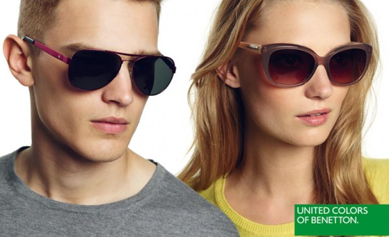 Benetton rinnova con Allison per gli occhiali