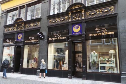Flagship a Praga di Harmont & Blaine