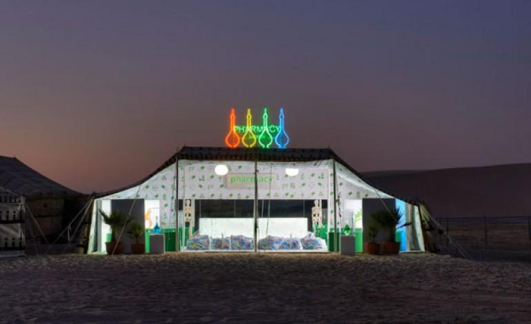 Prada e Hirst insieme nel deserto di Doha