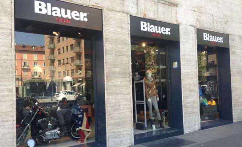 Blauer, party su due ruote per lo store milanese