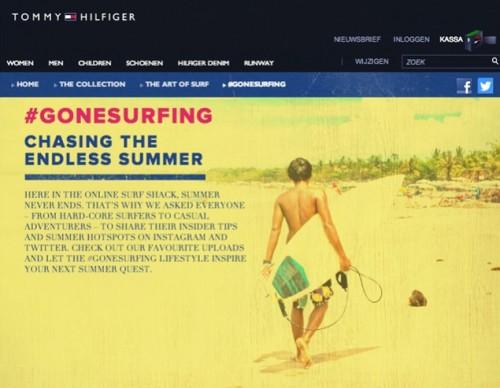 Tommy Hilfiger #GoneSurfing