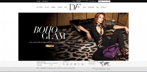 DVF home page