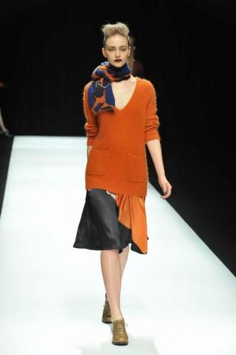 La sfilata di Kamishima Chinami alla Mercedes Benx fashion week di Tokyo