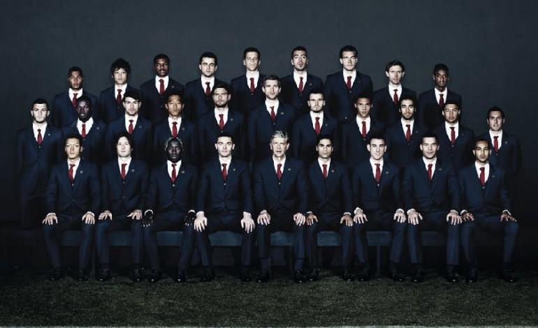 Lanvin scende in campo con l'Arsenal