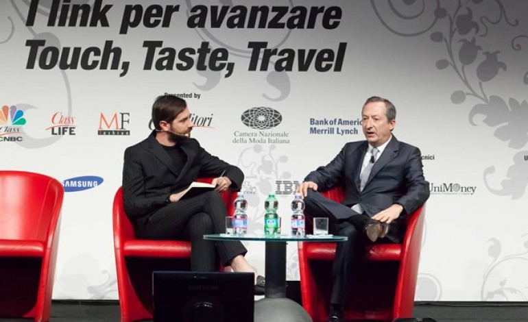 Crescita in tre T (touch,taste&travel) al Fashion Global Summit