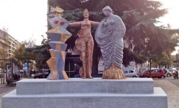 Fiume dona la scultura Le Tre Grazie a piazza Piemonte