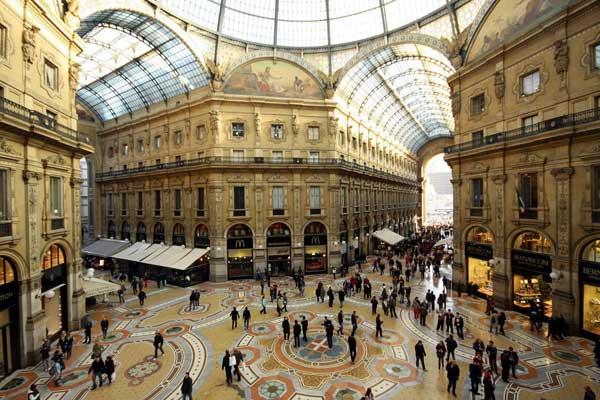 Un'immagine della Galleria