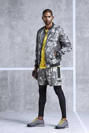 Un look della linea H&M Sport