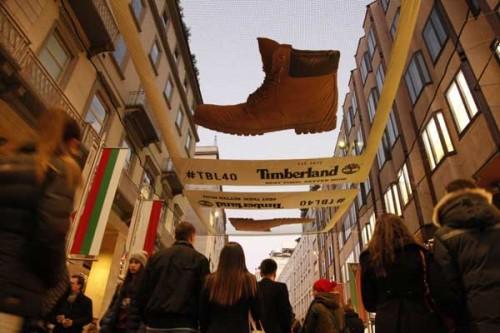 Timberland 'Ooh' a Milano